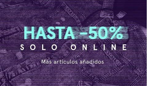 50% descuento bershka online