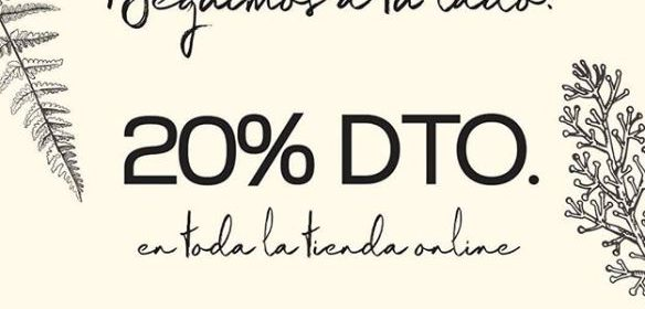aromas artesanales 20% descuento