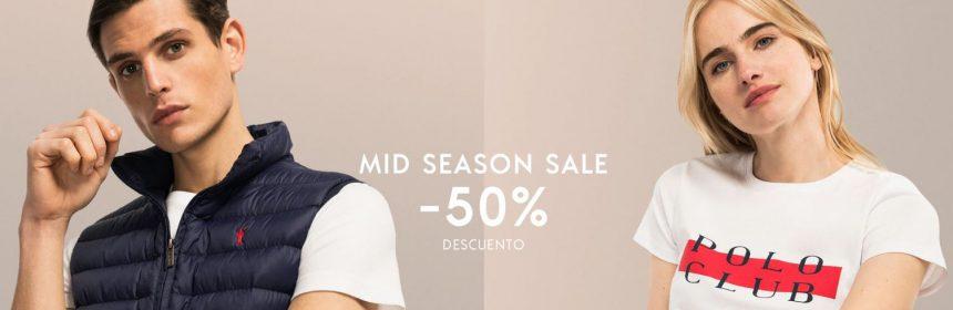 POLO CLUB MID SEASON SALE 50% descuento