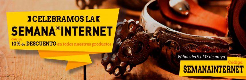 Semana de Internet en Corbeto's Boots 10% dto