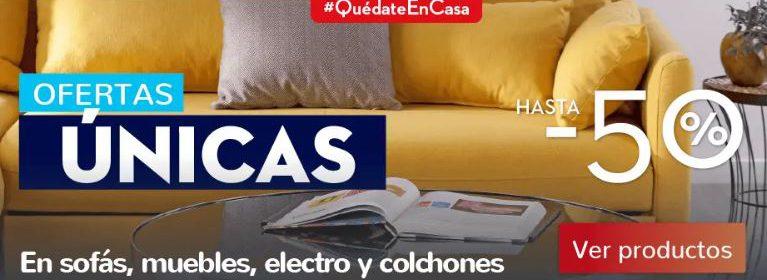 Campaña de descuentos #QuédateEnCasa de Conforama