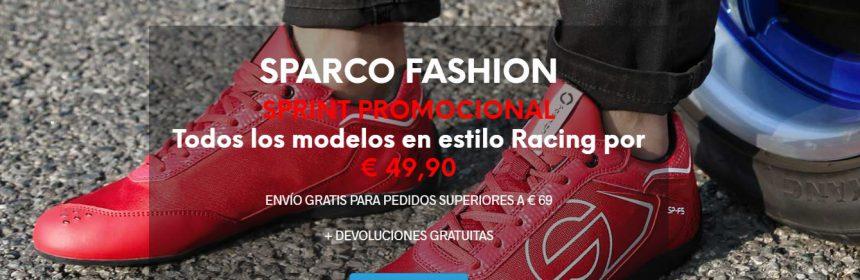 Sparco Fashion, rebajas en los modelos Racing